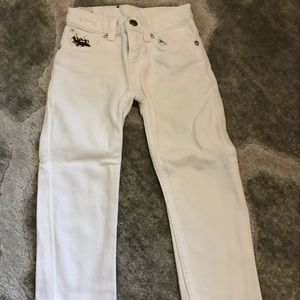Polo by Ralph Lauren white jeans